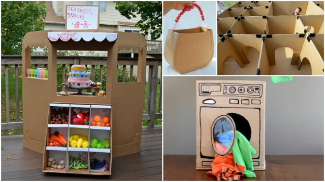 Fun DIY Projects With Recycled Cardboard