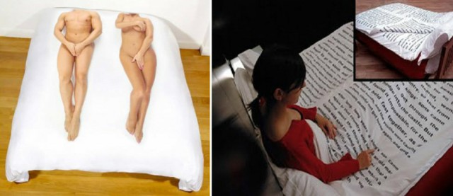 Funny Bed Sheet Cover 1