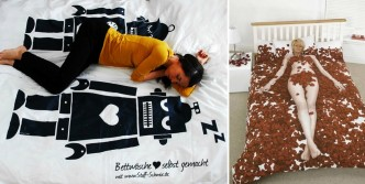 Funny Bed Sheet Cover
