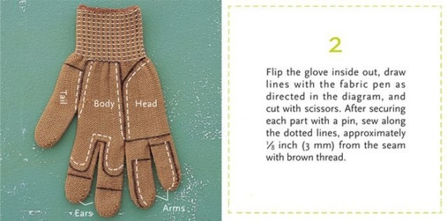Glove Chipmunk 2
