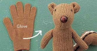 Glove Chipmunk