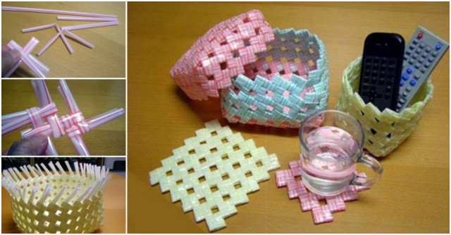 How To Make Woven Straw Storage Baskets