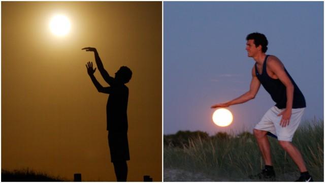 How To Take Creative Moon Shots