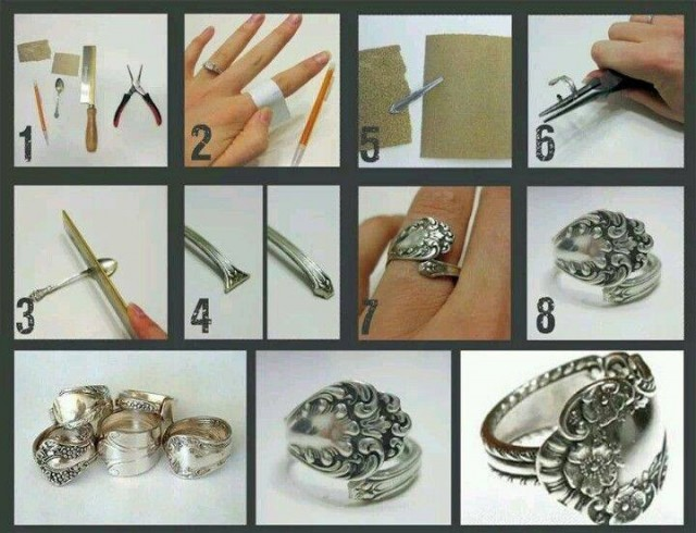 How To Turn A Silver Spoon Into A Beautiful Ring