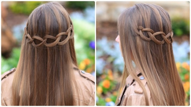 How to Do a Loop Waterfall Braid
