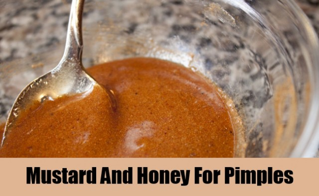 Mustard-And-Honey-For-Pimples