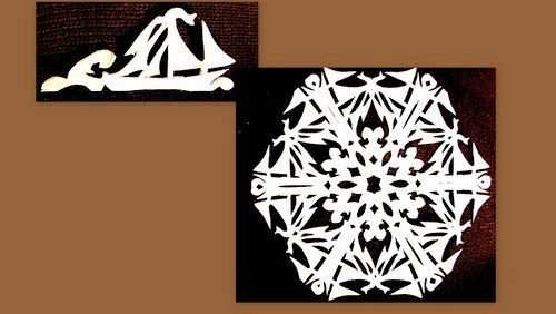 Paper Snowflake Patterns 10