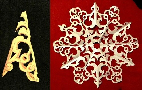 Paper Snowflake Patterns 11
