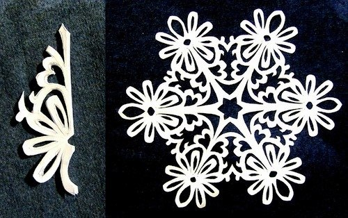 Paper Snowflake Patterns 13