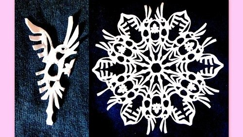 Paper Snowflake Patterns 14