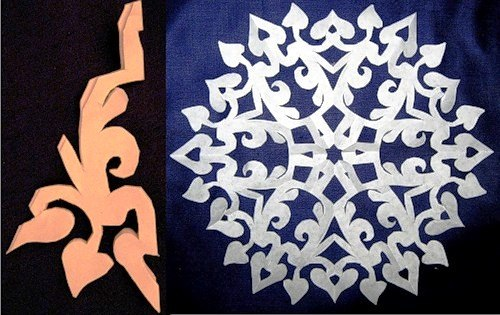 Paper Snowflake Patterns 21