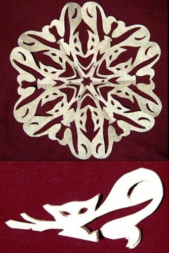 Paper Snowflake Patterns 3