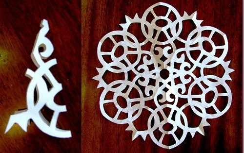 Paper Snowflake Patterns 6