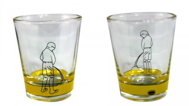 Pee Boy Glass