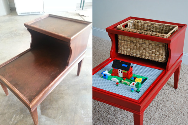 Recycled Lego Table