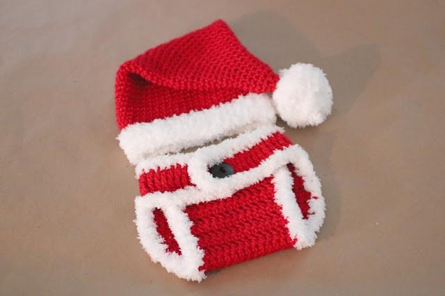 Santa Hat Diaper