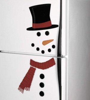 Snowman Fridge 1