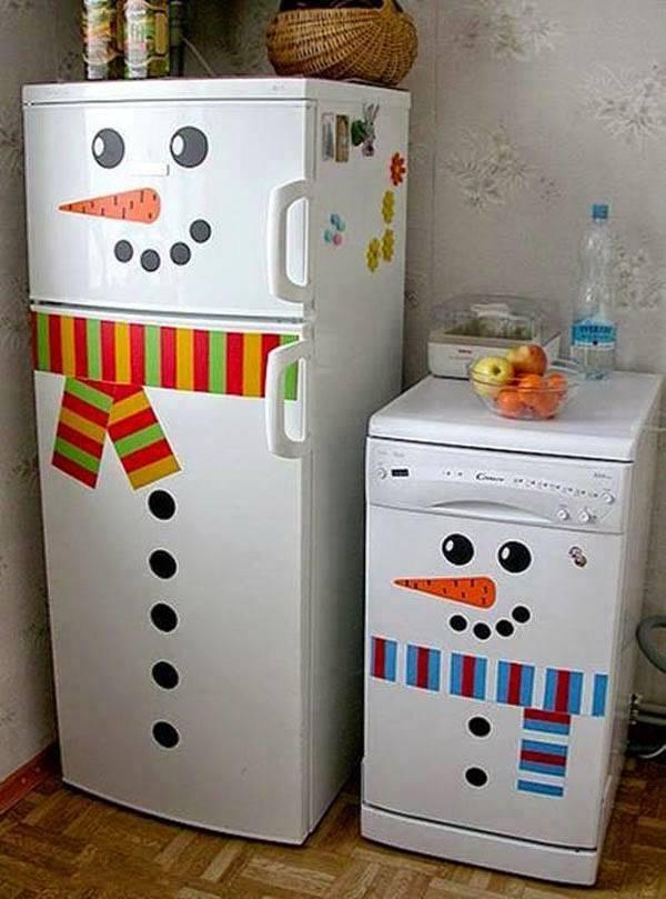 Snowman Fridge 2