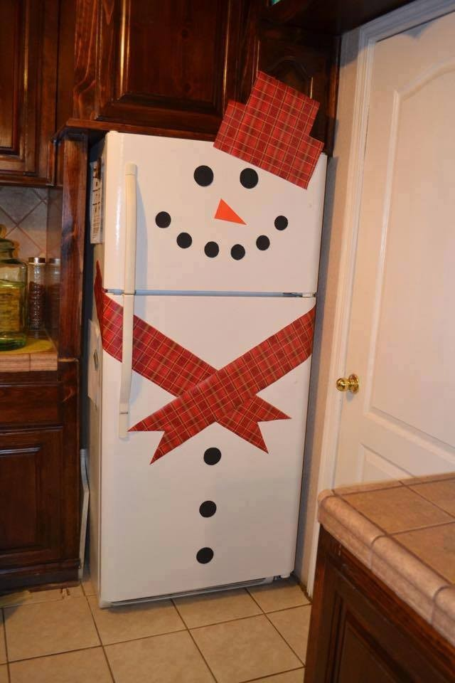 3 Way Refrigerator >> Decorate Refrigerators With Cute Snowman Stick Sets | How ...