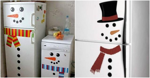 Snowman Fridge 5