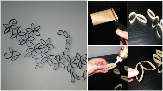 Toilet Paper Roll Wall Art 1