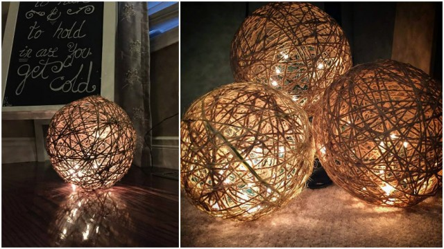 Twine Sphere Lanterns