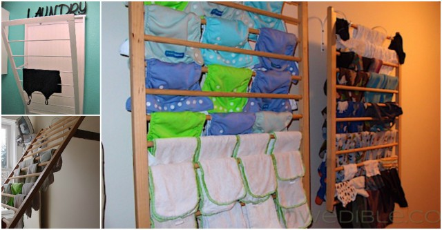 Wall Mounted Cloth Drying Rack