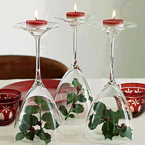 Wine Glass Centerpiece 1