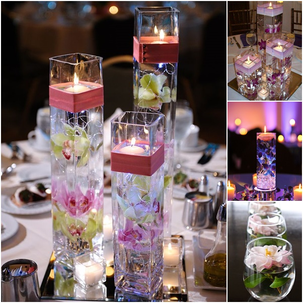 Wine Glass Centerpiece 5