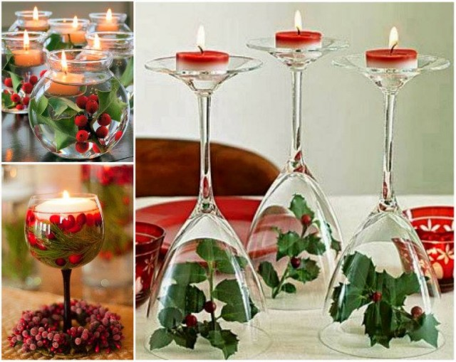 Wine Glass Centerpiece