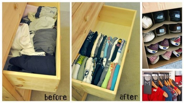 Creative Ways To Organize Your Closet And Drawers How To