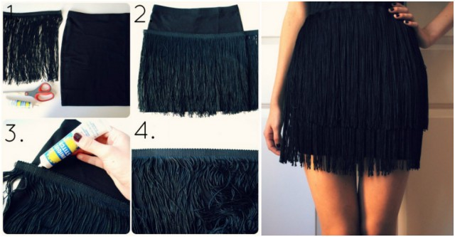 Flapper Fringe Skirt