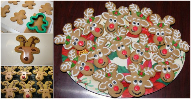 Gingerbread Reindeer Cookies Recipe