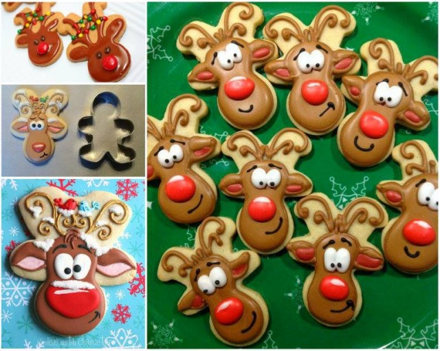 Gingerbread Man Reindeer Cookies Recipes How To Instructions