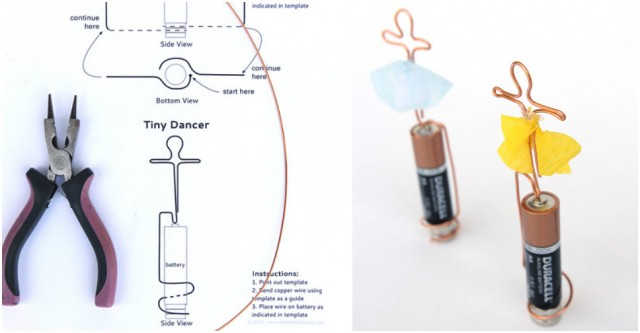 Homopolar Motor Tiny Dancer