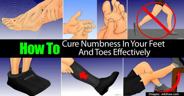 How To Effectively Cure Numbness In Your Feet And Toes