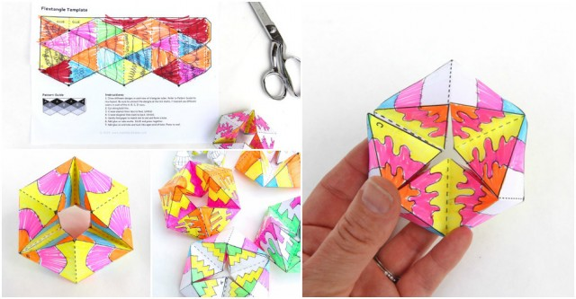 How To Fold Paper Flextangles