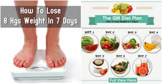 How To Lose 8Kgs Weight In 7 Days