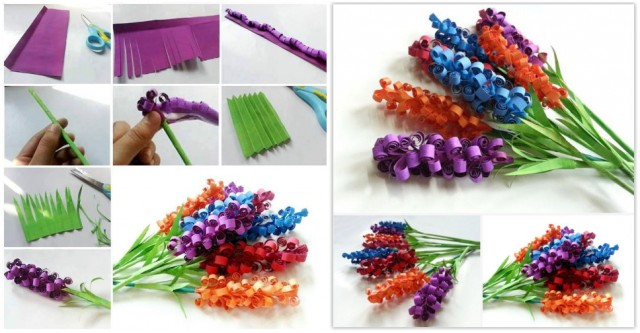 How To Make Curly Paper Flowers