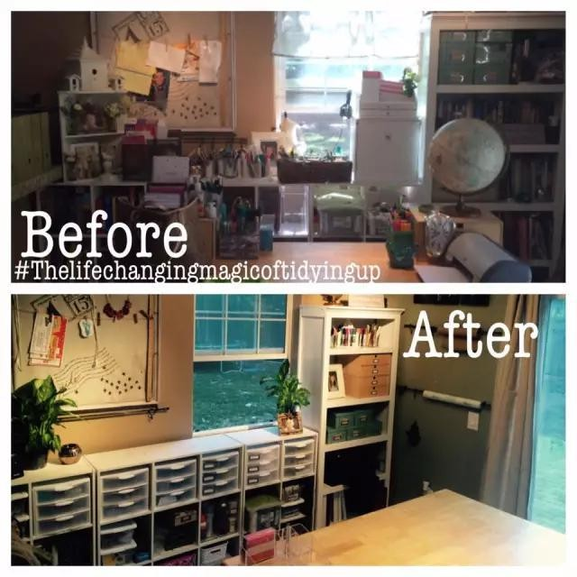 Organized Kitchen Before And After: Before And After Photos Of Marie Kondo Work Google Search
