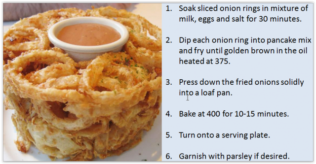 Onion Ring Loaf Tutorial