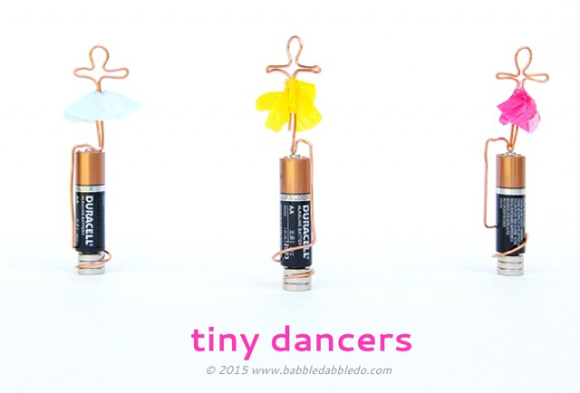 Science Project For Kids Homopolar Motor Tiny Dancer