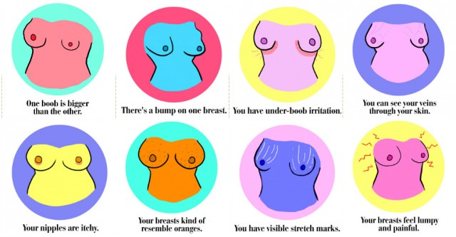 What Your Breasts Say About Your Health 1
