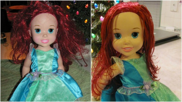 How to Detangle Doll Hair 4
