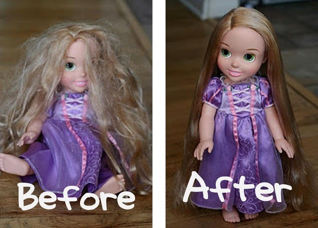 How to Detangle Doll Hair 5