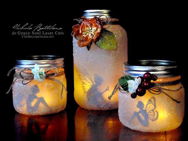 How to make mason jar fairy lanterns how to instructions for Crafts to make with glass jars
