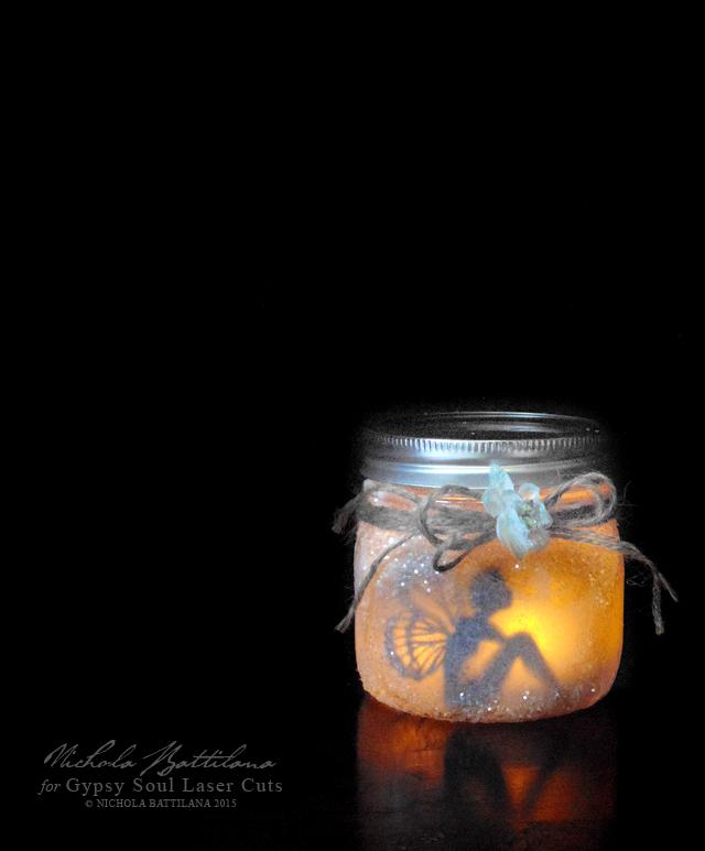 Mason Jar Fairy Lantern 2