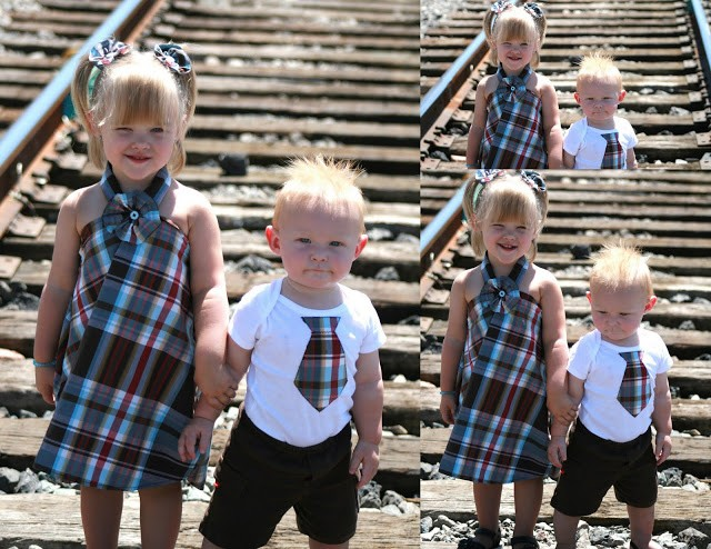 Toddler Dress & Tie
