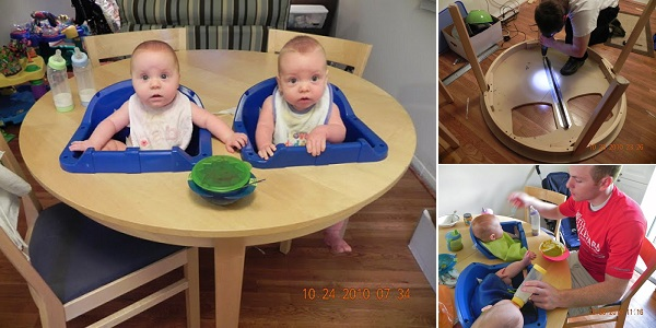 Twin High Chairs