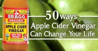 50 Amazing Ways For Using Apple Cider Vinegar